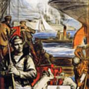 World War I: French Poster Art Print by Granger
