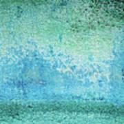 Yacht Hull Erosion Patterns Art Print
