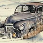 40 Chevy Art Print