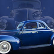 40 Ford Coupe Art Print