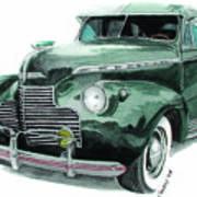 41 Chevy Art Print
