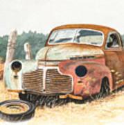 '41 Fleetline Art Print