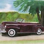 42 Chevy Art Print