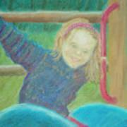 Young Girl Art Print