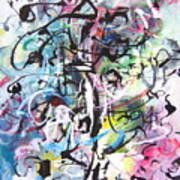 Abstract Expressionsim Art Art Print