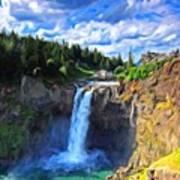 P G Landscape Art Print