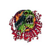 44 Cal Entertainment Logo Art Print