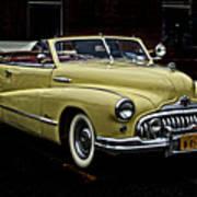 48 Buick Ragtop Art Print