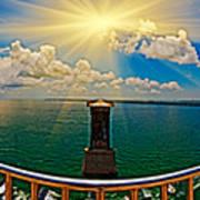 4x1 Bahia Honda Bridge Panorama Art Print