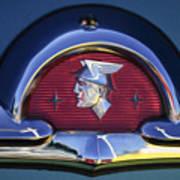 1953 Mercury Monterey Emblem Art Print