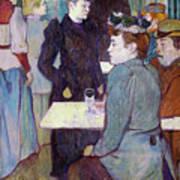 A Corner Of The Moulin De La Galette Art Print