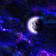 Abstract Stars Nebula Art Print