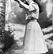 Annie Oakley (1860-1926) Art Print by Granger