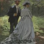 Bazille And Camille Art Print