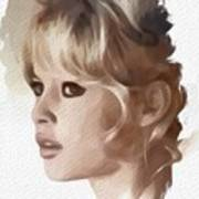 Brigitte Bardot, Actress Art Print