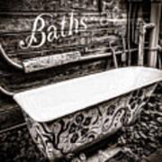 5 Cent Bath Art Print