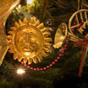 Christmas Tree Decorations Art Print