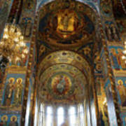 Church Of The Savior On Spilled Blood  Art Print