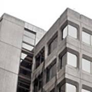 Concrete Building Art Print