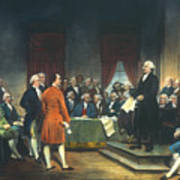 Constitutional Convention Print by Granger