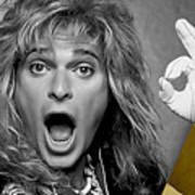 David Lee Roth Collection Art Print