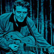 Eddie Cochran Collection Art Print