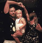 Family Dancing On The Bayou Art Print