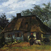 Farmhouse In Nuenen Art Print