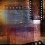 Film Strips 3 Art Print