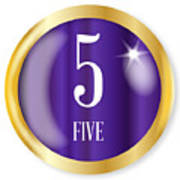 5 For Five Art Print