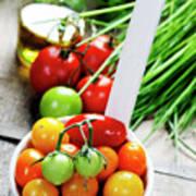 Fresh Tomatoes Art Print
