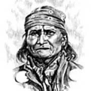 Geronimo Art Print