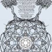Hebrew Prayer- Toda- Thanks To The Lord Art Print