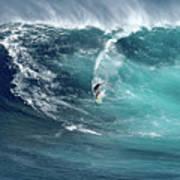 Jaws Wave Art Print