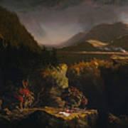 Landscape With Figures Art Print