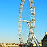London Eye Art Print