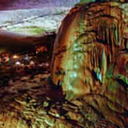 Marble Cave Crimea Art Print