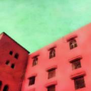 Moroccan Building Art Print