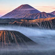 Mount Bromo - Java Art Print