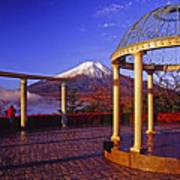 Mount Fuji In Autumn Art Print