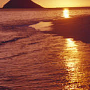 Oahu, Lanikai Beach Art Print