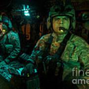 Pilots Sitting In The Cockpit Art Print