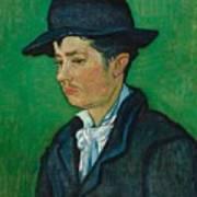 Portrait Of Armand Roulin Art Print