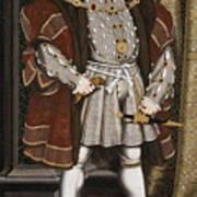 Portrait Of Henry Viii Art Print