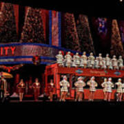 Radio City Rockettes New York City Art Print
