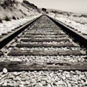 Railway Tracks  Art Print