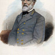Robert E. Lee (1807-1870) Art Print by Granger