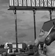 Route 66 - Mule Trading Post Art Print