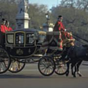 Royal Carriage In London Art Print