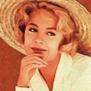 Sandra Dee, Vintage Actress Art Print